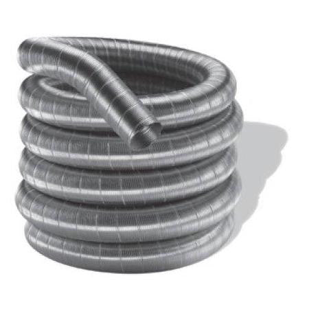 "DuraVent 3"" Galvanized Aluminum 35' Insert Vent Liner - Colorado Fireplace Supply"