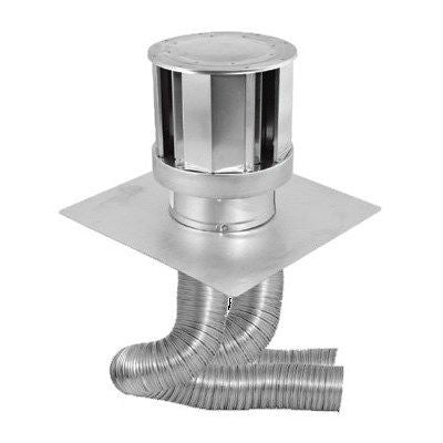 "DuraVent 3"" Vertical Insert 46DVA-CL33H Termination Cap with Liner - Colorado Fireplace Supply"
