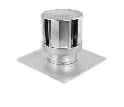 "DuraVent 3"" Vertical Insert 46DVA-CL33H Termination Cap - Colorado Fireplace Supply"