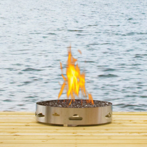 Napoleon Transportable Patioflame Gas Fire Pit with Glass - Colorado Fireplace Supply