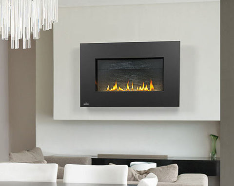 "Napoleon Plazmafire 31 Direct Vent 43"" Electronic Ignition Fireplace with Surround - Colorado Fireplace Supply"