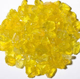 Lemon Yellow Fire Glass 5lbs - Colorado Fireplace Supply