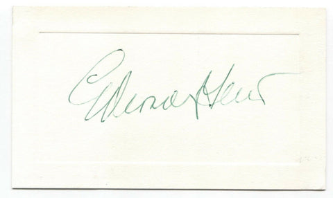Eddie Gilbert Signed Card Autographed Signature Boy Wonder of Wall Street