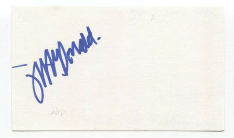 South - Jamie McDonald Signed 3x5 Index Card Autographed Signature Band