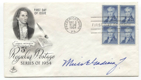 Mills Godwin Signed FDC First Day Cover Autographed Signature Governor