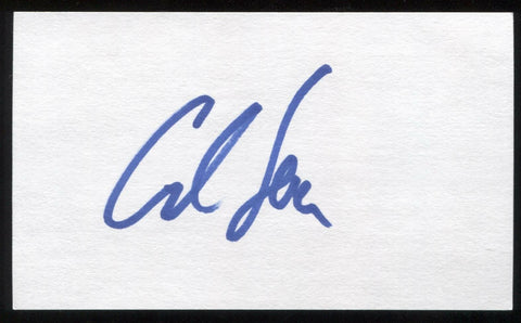 Carl Lewis Signed 3x5 Index Card Autographed Signature Olympic Gold Medalist