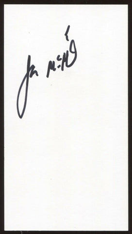 James McBride Signed Ticket Autographed Vintage Signature Musician and Author