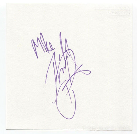 "Peter Andre Signed Album Page Autographed Signature ""To Mike"" Singer"