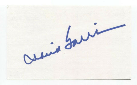 David Garrison Signed 3x5 Index Card Autographed Married With Children