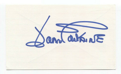 Joan Fontaine Signed 3x5 Index Card Autographed Actress Signature