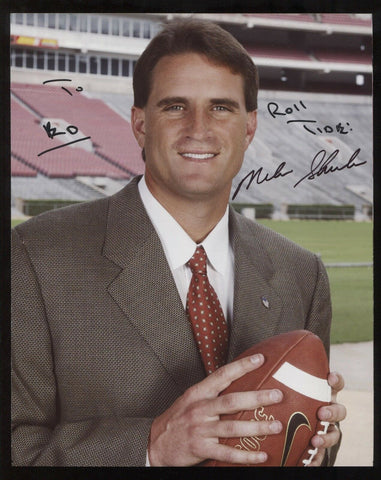Mike Shula Signed 8x10 Photo College NCAA Football Coach Autographed