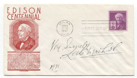 Lester Matthews Signed First Day Cover Autographed Signature Werewolf in London