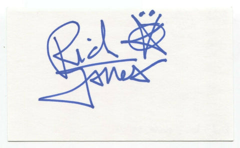 The Black Halos - Rich Jones Signed 3x5 Index Card Autographed Signature