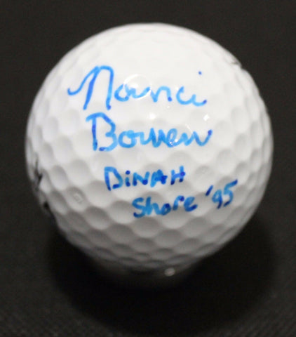 Nanci Bowen Signed Golf Ball Autographed Top Flight Signature