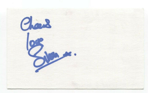 The Levellers - Simon Friend Signed 3x5 Index Card Autographed Signature Band