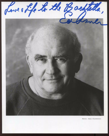 Ed Asner Signed 8x10 Photo Autographed Vintage AUTO Signature