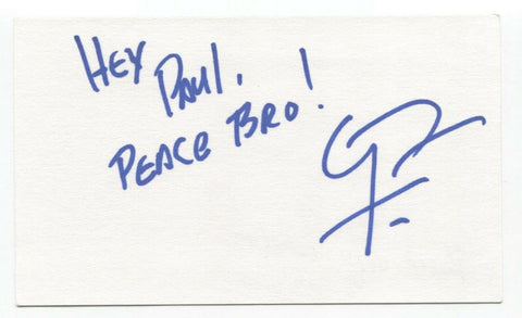 Guy Torry Signed 3x5 Index Card Autograph Signature Actor X-Files