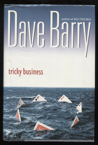 "Dave Barry Signed Book ""Tricky Business"" Autographed First Edition 1st"