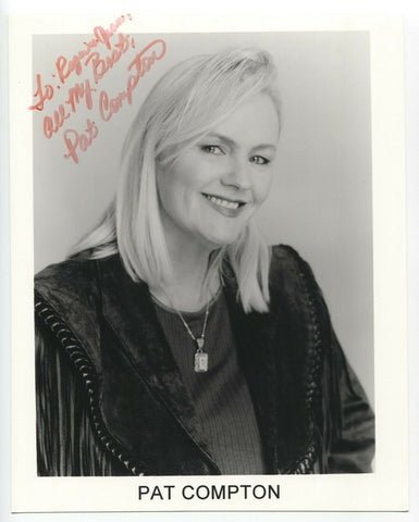 Pat Compton Signed 8x10 Inch Photo Autographed Signature Country Singer