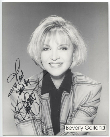 Beverly Garland Signed 8x10 Inch Photo Autographed Vintage Signature