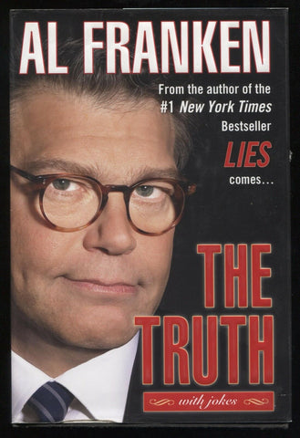 "Al Franken Signed Book ""The Truth"" Autographed First Edition 1st"