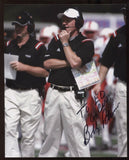Bobby Petrino Signed 8x10 Photo College NCAA Football Coach Autograph Louisville