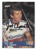 Joe Amato Signed Pro Set Trading Card #1 Autographed Signature Top Fuel
