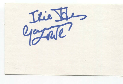 Big Sugar - Garry Lowe Signed 3x5 Index Card Autographed Signature Band