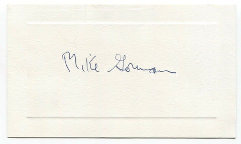 Mike Gorman Signed Card Autographed Signature Mental Health Activist