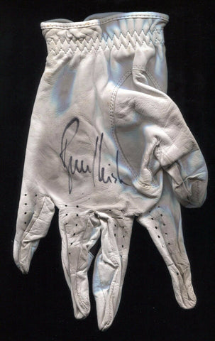 Bruce Fleisher Tournament Used and Signed Golf Glove Autographed PGA Gam Used
