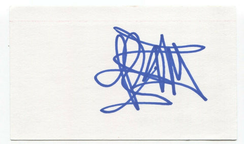 Finger 11 - James Black Signed 3x5 Index Card Autographed Signature Band
