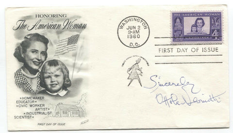 Ottola Nesmith Signed First Day Cover FDC Autographed Signature Horror Actress