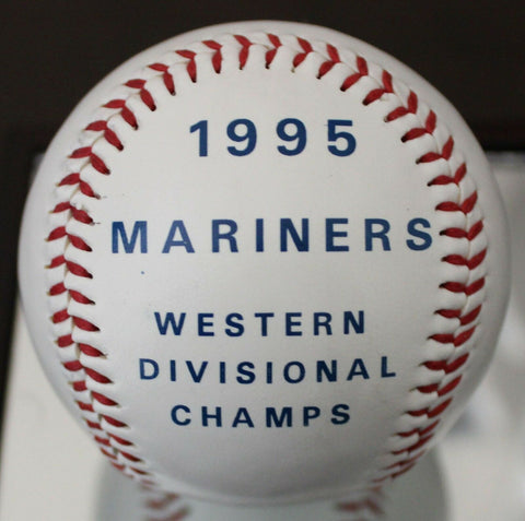 1995 Seattle Mariners Refuse To Lose Souvenir Baseball Western Division Champs