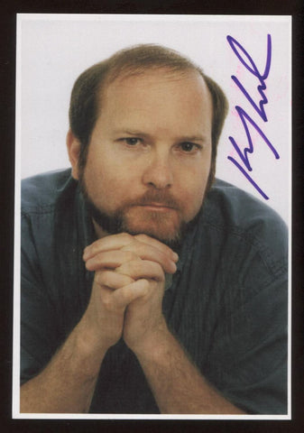 Kevin J. Anderson Signed Photo and Letter Autographed Signature Star Wars Dune