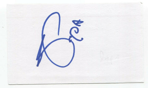 Tom Papa Signed 3x5 Index Card Autographed Signature Actor Comedian