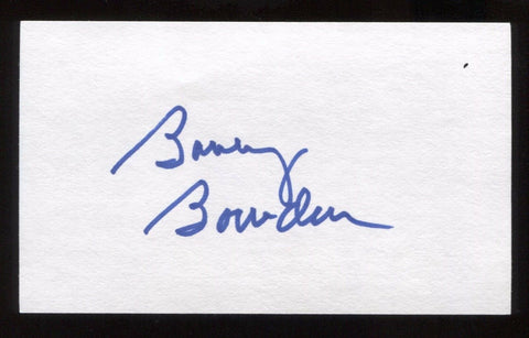 Bobby Bowden Signed 3x5 Index Card Signature Autographed Florida State Football