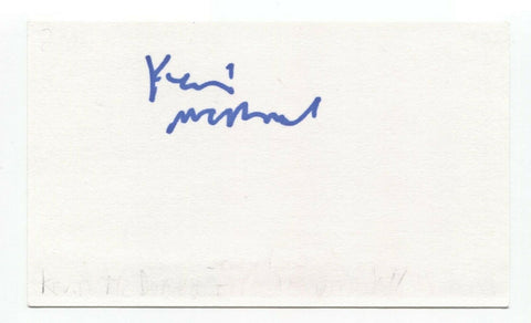 Kevin McDonald Signed 3x5 Index Card Autograph Signature Actor That 70's Show