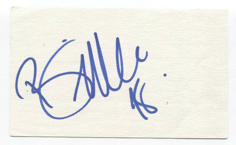 Billie Myers Signed 3x5 Index Card Autographed Signature Singer Songwriter