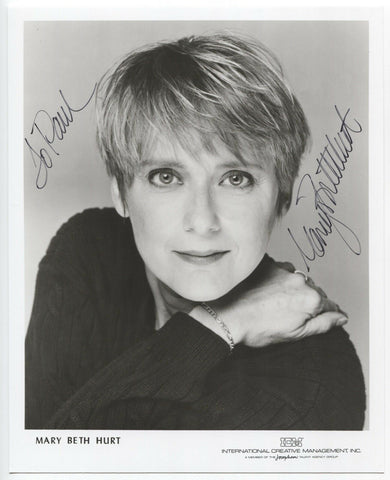 Mary Beth Hurt Signed 8x10 Inch Photo Autographed Vintage Signature