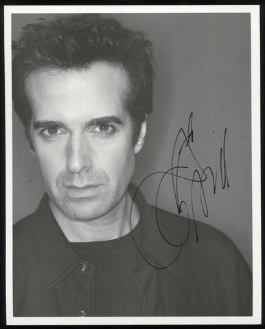 David Copperfield Signed 8 x 10 Inch Photo Vintage Autographed Signature