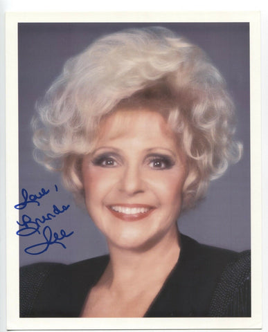 Brenda Lee Signed 8x10 Inch Photo Autographed Vintage Signature