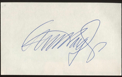 General Alexander Haig Signed Index Card Autographed Signature AUTO
