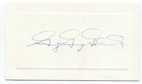 Guy Gabrielson Signed Card Autographed Signature Politician