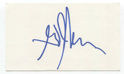 Big Sugar - Gordie Johnson Signed 3x5 Index Card Autographed Signature Band