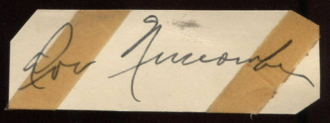 "Don Newcombe Signed Cut  From 1951"" Autograph Clipped from a GPC"