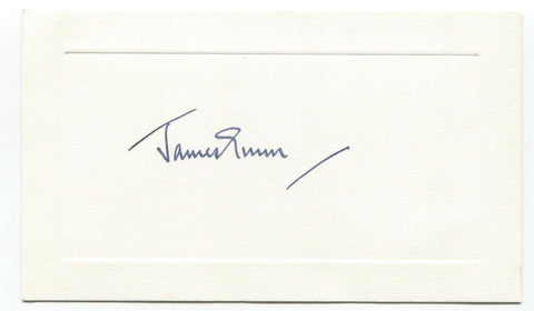 Herbert James Gunn Signed Card Autographed Signature Painter Artist