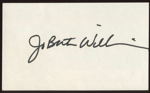 JoBeth Williams Signed Index Card Signature Vintage Autographed AUTO