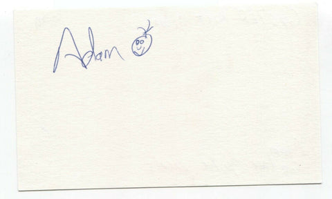 Guster - Adam Gardner Signed 3x5 Index Card Autographed Signature Band
