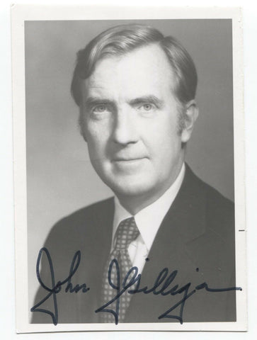 John J. Gilligan Signed Photo Autographed Governor of Ohio Signature