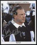Andy Talley Signed 8x10 Photo College NCAA Football Coach Autographed